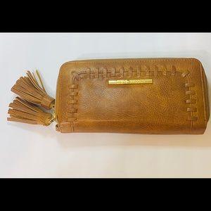 Steve Madden Double Zip Wallet